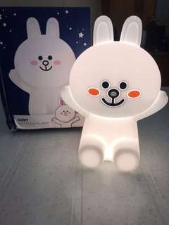 Brand New Line friends Hug Me Corny Rechargeable LED Night Touch Lamp