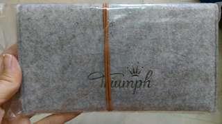 Triumph 絨面收納袋/筆袋