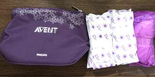 BN Avent Breast Pad and Washable Pouch