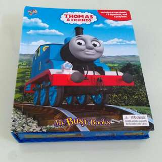 Thomas Train Busy Book With Figurines