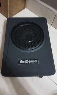 "The punch 8""Subwoofer"
