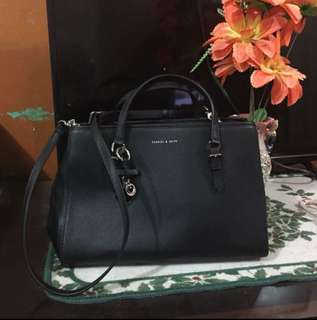 Authentic Charles and Keith two way bag