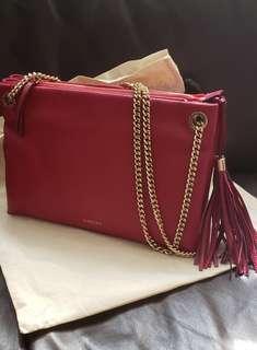 Lanvin Sugar red Lether Shoulder Bag