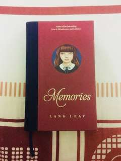 Book by Lang Leav - Memories