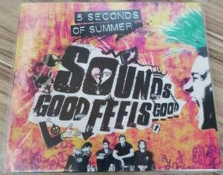 5SOS Sounds Good Feels Good CD