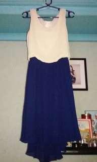 Korean style 2 toned dress