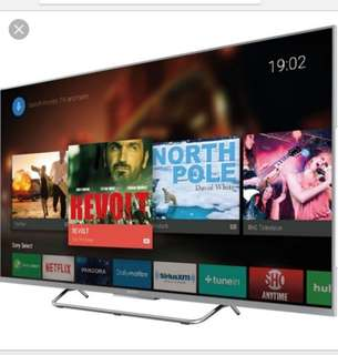 Sony 55 inches Android Digiral Ready LED TV!! As good as new!!