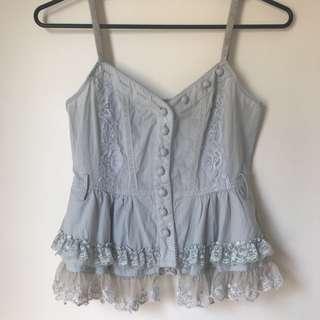 Vintage lace cami size S