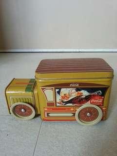 絕版可口可樂鐵皮車