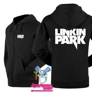 Jaket Zipper Hoodie Linkin Park