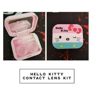 Hello Kitty Travel Contact Lens Kit Case