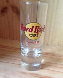 Hard Rock Madrid shot glass