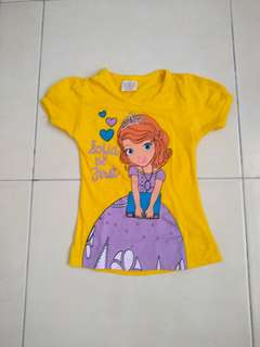 Tshirt for girl age 12-18 months