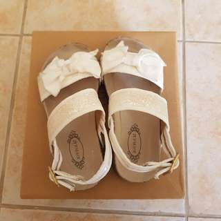 Joyfolie Sandals S10 Size 10 18cm White Girls Not Mini Melissa Minimel