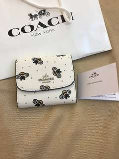 Original coach women wallet purse pouch coin bag