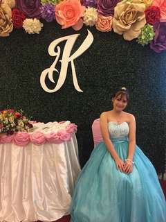 GOWN FOR RENT (EVENTS, PROM, GRAD BALL, DEBUT)