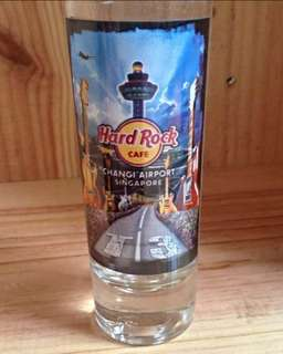 Hard Rock Singapore City shot glass