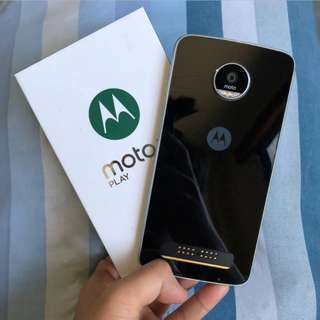 Moto Z Play with Moto Shell Complete