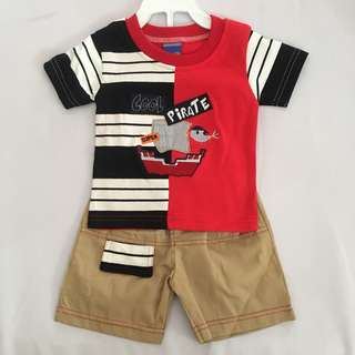 Baby Boy Embroidery Cute Set Wear SB 011