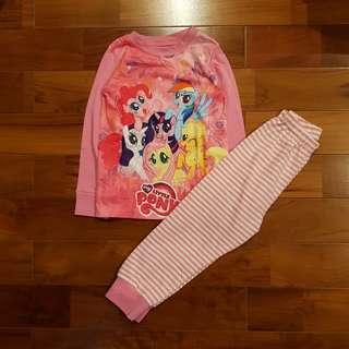 Pyjamas little pony