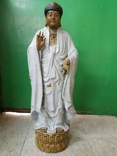 石灣陶瓷公仔,佛祖登天,稀有款