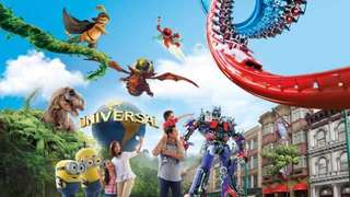 Universal Studios Singapore (USS 1 day pass) Adult Open E-ticket