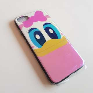 iPhone 6/6s Soft Case Pink Daisy Duck