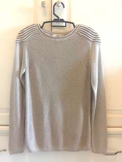 Mango Textured Shoulder Knitted top *Further reduction*