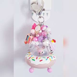 Donutella Sweet Space Ride Beads Charm