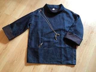 ⚡️ Price Down ⚡️ Hermès Denim Top