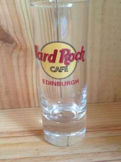 Hard rock Edinburgh shot glass