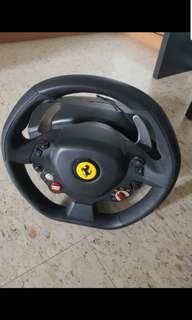 THRUSTMASTER 458 ITALIA RACING WHEEL (XBOX/PC)