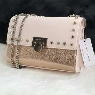 Charles and Keith Glitter Slingbag