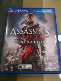 刺客教條3外傳 Psvita Assassin's creed3 Liberation