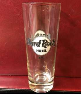 Hard Rock Bali shit glass