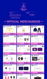 TWICE 2nd Tour TWICELAND ZONE 2 : FANTASY PARK Official Merchandise