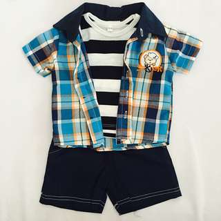 Baby Boy 2PCS Set SB 013