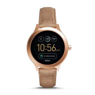 Fossil Q Wander - Sand Leather