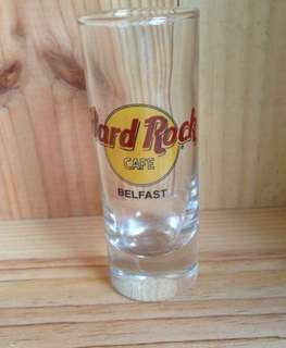Hard Rock Belfast shot glass