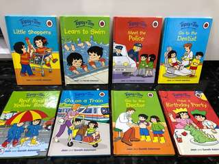 Topsy Tim Ladybird Children English Story Books Toys (Good Condition)