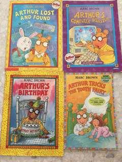 Marc brown, books on Arthur
