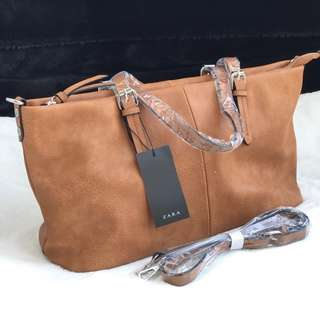 Zara Basic Totebag