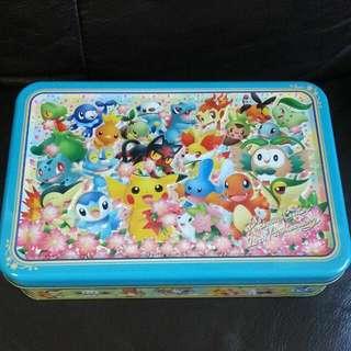 pokemon center 20周年 鐵盒連食物