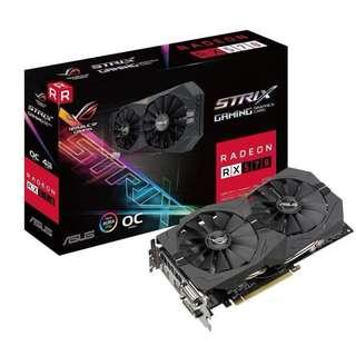 ASUS ROG Strix Radeon RX 570 4G Gaming OC Edition GDDR5 Graphics Card