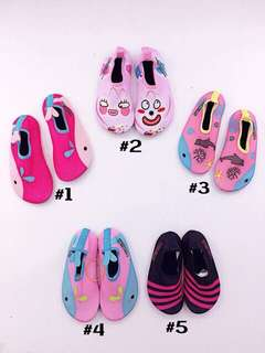 KIDS QUICK DRY AQUA SHOES HIGH QUALITY RUBBERIZED