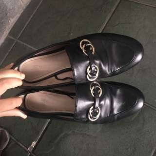 Office HnM leather shoe