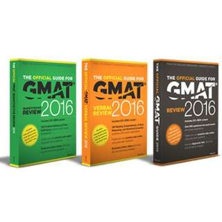 Sell GMAT Books 2016 (Original but Used)
