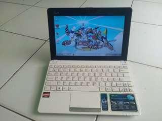 Notebook Asus Eepc 1015 Amd Ram 2 Hdd 320 Likenew Mulus 98%