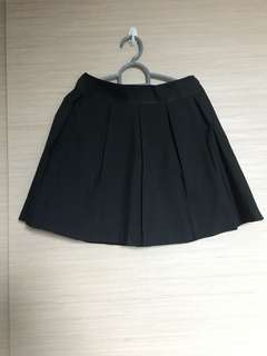 Pepper Plus Black Pleated Skirt (with postage)