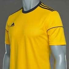 全新Adidas Squad 17 JSY Tee Size S old school logo T-shirt